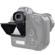 LCD Screen Protector Pop up sonnenschutz lcd Haube Schild Abdeckung für Canon 1DX 1DX2 1DX MARK II 5D3 5D4 5DS 5DSR 6D 7D2 7D MARK II