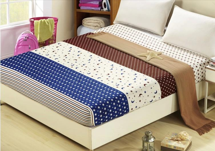 bed sheets printed. Wonderful Printed 100cotton New Printed QueenKing Fitted Sheets Mattress Cover  BedspreadCrib Sheet Bedding Coverbed Sheet Bed Linen Sabanasin From Home U0026 Garden On  Intended Bed Sheets R
