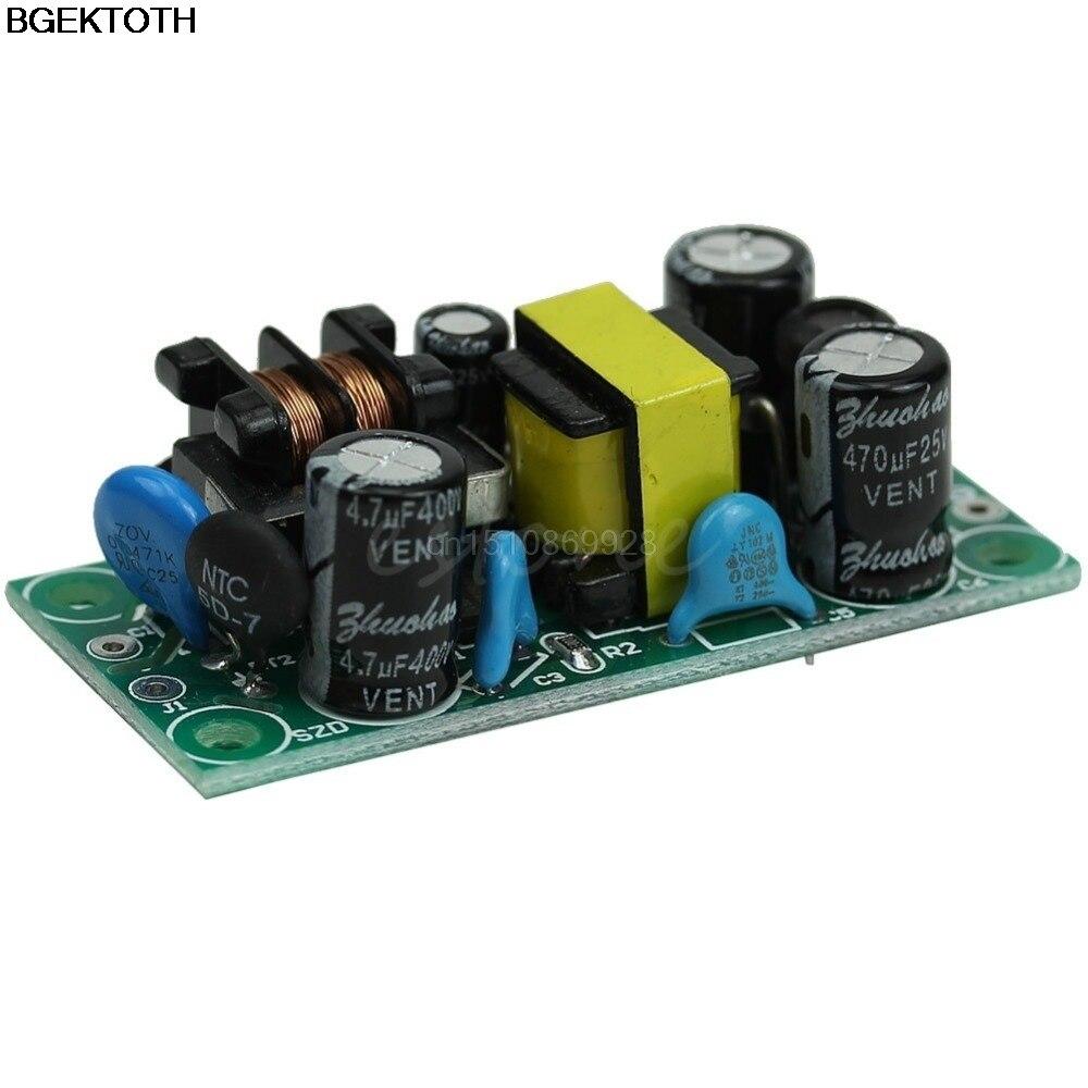 AC-DC 12v500ma понижающий преобразователь изоляции светодиодных bare Plate Мощность модуль питания 220 В