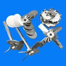 Pá de aço inoxidável da barra de agitação do laboratório 304 três-lâmina/quatro-lâmina da pá da barra de agitação três/quatro hélice da lâmina para o misturador do laboratório