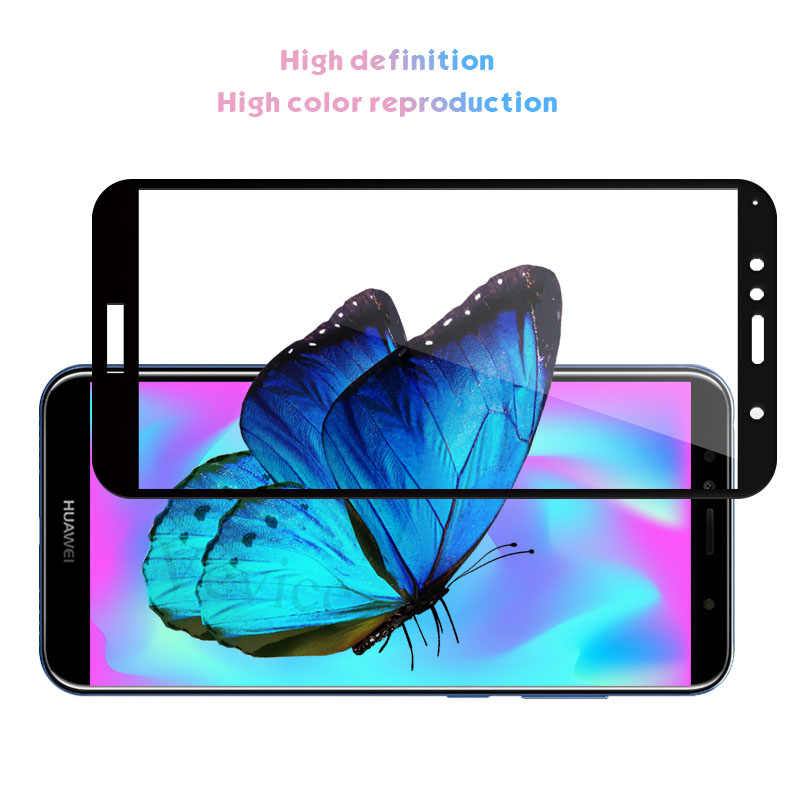 Full Cover Tempered Glass For Huawei Y9 Y5 Y6 Y7 Prime 2018 2019 2017 Protective Screen Protector For HUAWEI Y9 2019 Film Glass