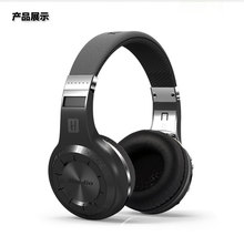 Orignal Bluedio H+ Wireless Bluetooth Hands Free Headset Super Bass Music headsets with Line-in Socket Microphones TF Card Slot