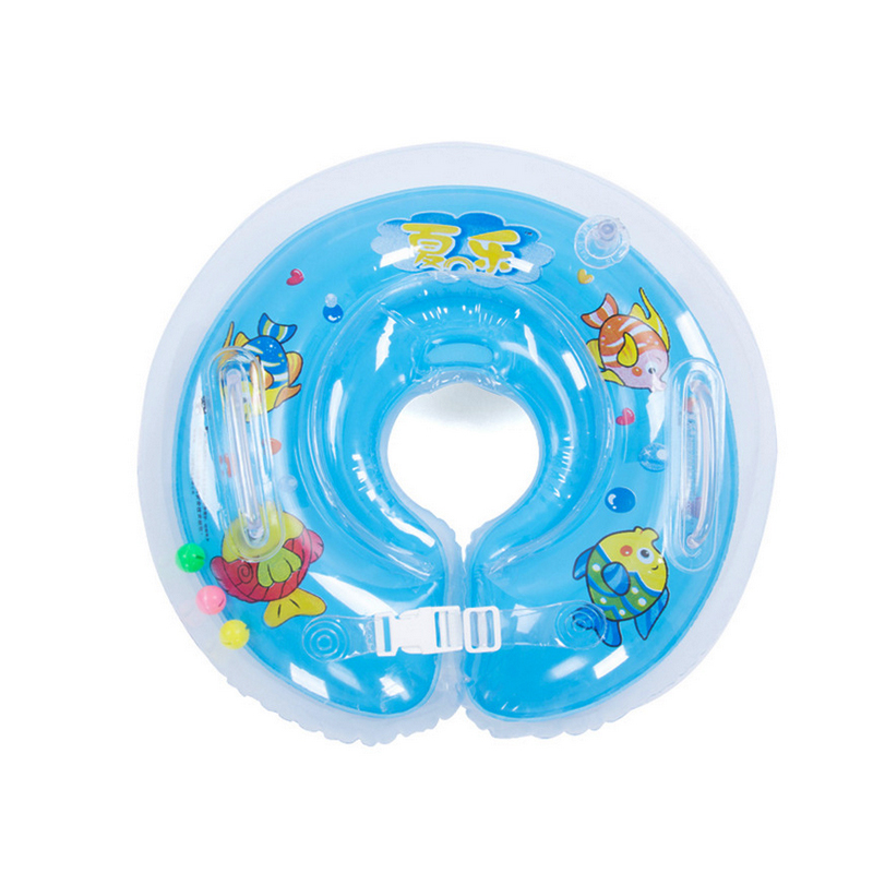 Gratis frakt Baby Kids Infant Swimming Protector Halsflöde Ring Safety Life Buoy Life Saver Neck Collar Uppblåsbara Tube