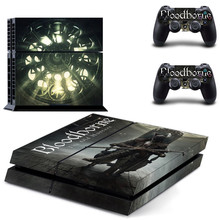 Bloodborne The Old Hunters Edition PS4 Skin Sticker