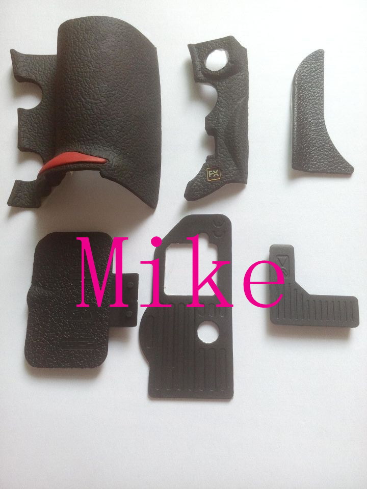 NEW For Nikon D700 Grip Rubber Unit USB Rubber With Adhesive Tape