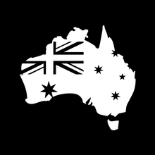 Vinyl Cut Car Sticker Australia With Australian Flag Made In Australia And Design Packaging Accessories Product Decals deadly aboriginal sticker australia car flag interesting packaging accessories product decal decor