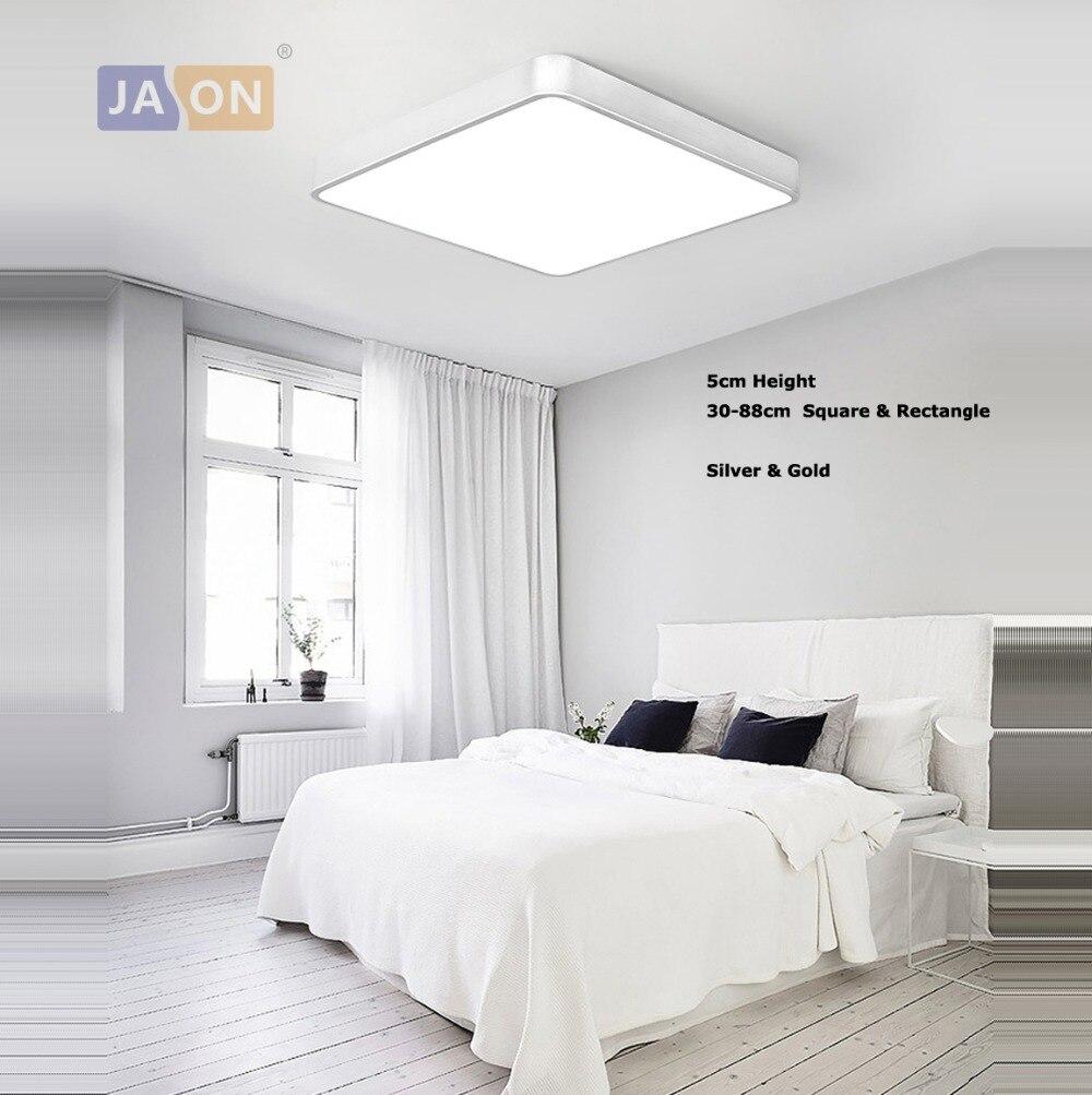 Ceiling Lights Ceiling Lamp For Bedroom Foyer Led Modern Iron Acryl Rectangle Led Lamp.led Light.ceiling Lights.led Ceiling Light