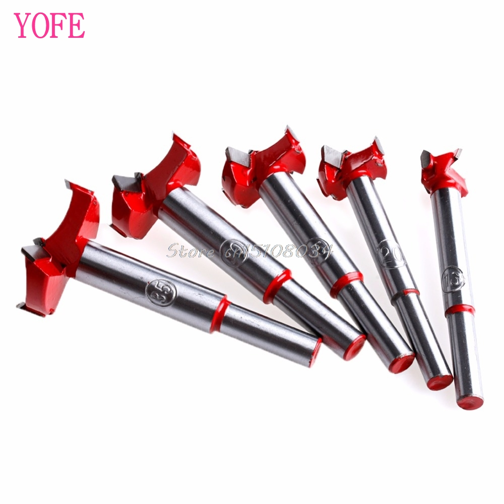 цены Professional Forstner Woodworking Hole Saw Cutter Drill Bits 16/20/25/30/35mm S08 Drop ship