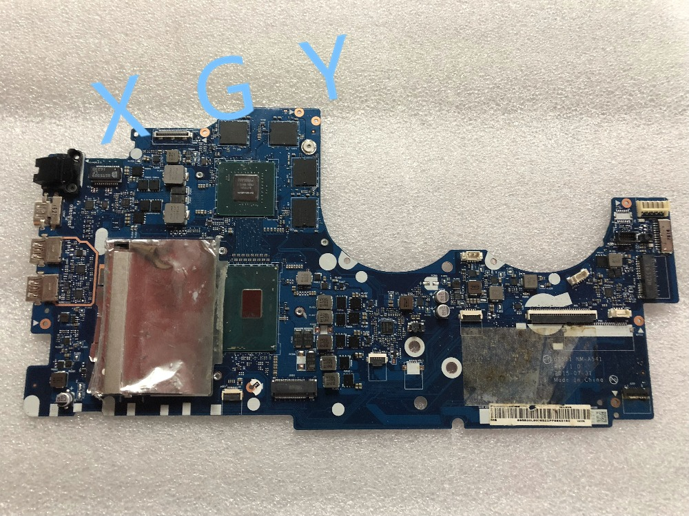 US $560 0 |Aliexpress com : Buy For Lenovo Y700 Laptop motherboard BY511 NM  A541 mainboard SR2FQ i7 6700HQ N16P GX A2 100% test ok, from Reliable