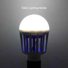 Indoor 2 in 1 Mosquito Killer 110V 220V Lamp Insect Anti-Mosquito Repeller Killing Fly Bug Home Night Light E27 LED Bulb