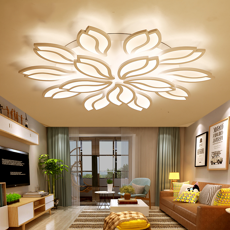 LEDCeiling light living room modern minimalist art creative LED ceiling lamp Nordic home bedroom lamp abaju led ledchandelier post modern minimalist living room nordic creative bedroom dining room lights abaju
