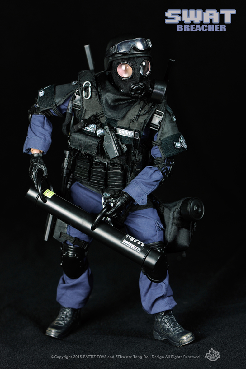 ФОТО Height about 30CM Body Moveable 1/6  Soldier Model SWAT Forces 12-inch Model (Breacher) Interior Decoration Collection Gifts