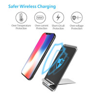 Stand Qi Wireless Phone Charger 10W 7 5W 5V 2A Fast Charge Charging For Iphone X