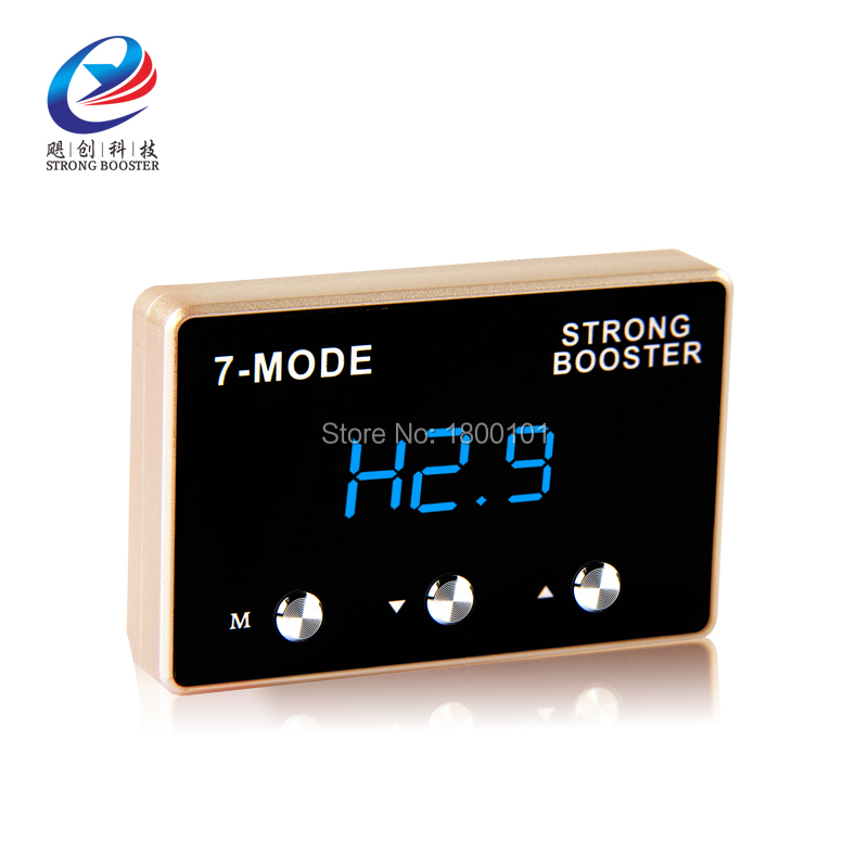LED digital Auto Electronic Throttle Controller,car Sprint Strong Potent Booster power converter for Lotus series Proton series