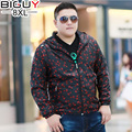 BIG GUY 5XL 6XL 7XL 8XL Oversized Male Windbreaker Jacket 2017 Spring Autumn Casual Hooded Mens Windbreakers 1389 PZ3