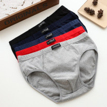 100% Cotton Briefs Mens Comfortable Underpants Man Underwear