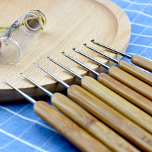 Looen 20pcs/set Baby Knitting Needles Handle Bamboo Crochet Hooks