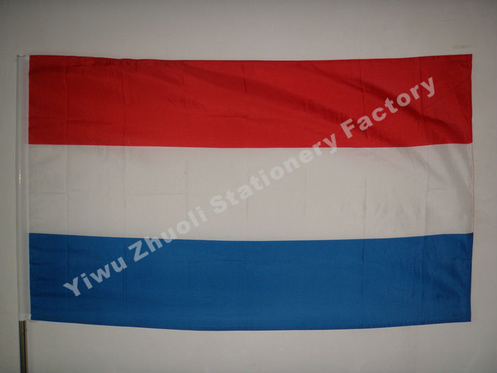 netherlands flag 150x90cm 3x5ft 115g 100d polyester double stitched high quality free shipping. Black Bedroom Furniture Sets. Home Design Ideas