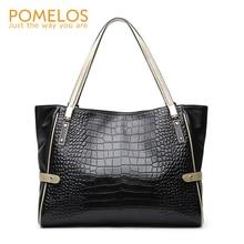 POMELOS Women Handbag Genuine Leather Shoulder Bag 2019 New Arrival Luxury Handbags Women Bags Designer Fashion Ladies Hand Bags цена 2017