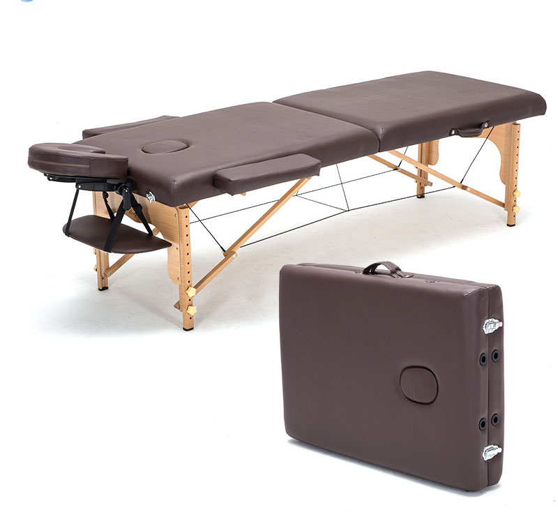 LK36 Professional Poldable Spa Massage Tables Physical Therapy Leather Bed Portable Imported Beech Wood Beauty Massage Table 2015 new design high quality cheap folding wooden massage tables massage beds beauty beds spa beds