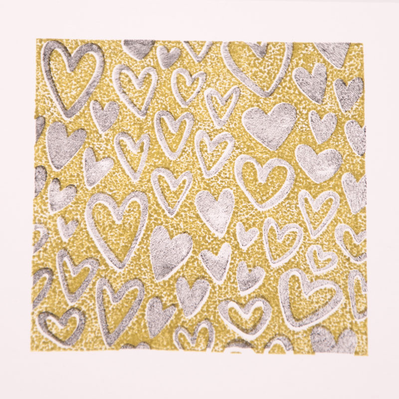 New LOVE Heart Pattern Clear Stamps for Scrapbooking DIY Silicone Seals Photo Album Embossing Folder Paper Maker Template Craft in Stamps from Home Garden