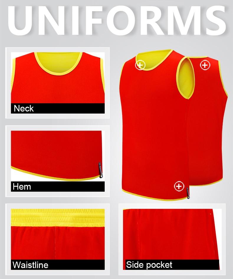 5e69a625e10 pastore1908 Basketball Jersey suit mens reversible jerseys breathable  running sportswear set Personalise pattern custom jersey -in Basketball  Jerseys from ...