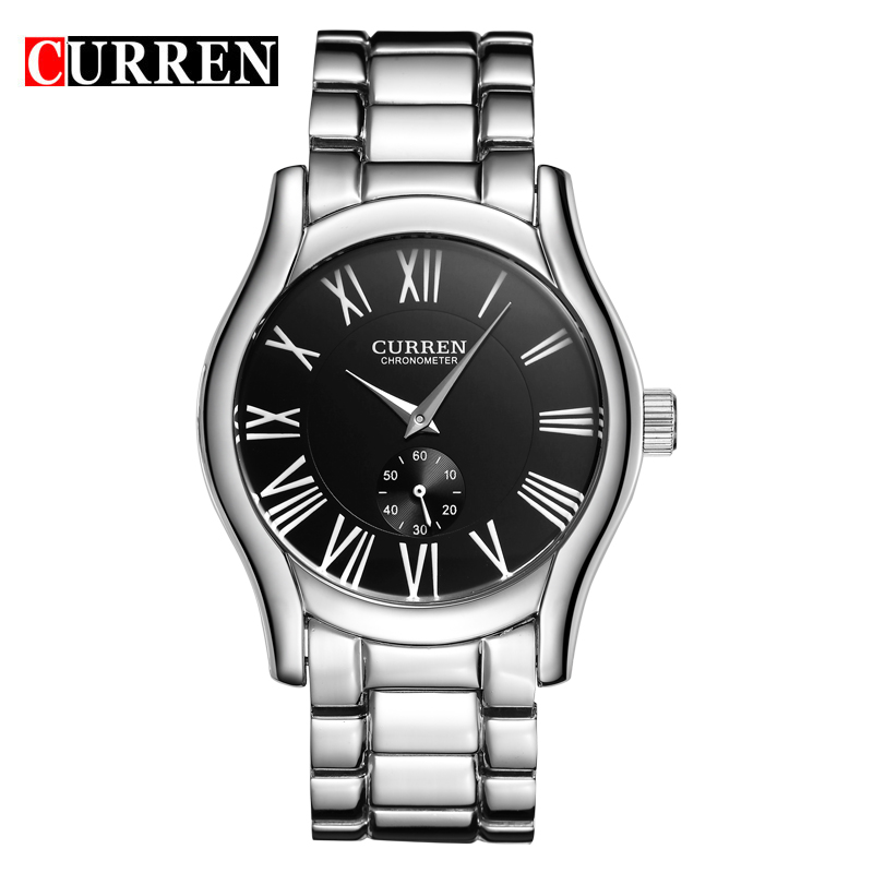 Curren Watches Men Quartzwatch Relogio Masculino Luxury Military Wristwatches Fashion Casual Water Resistant Army Sports8061