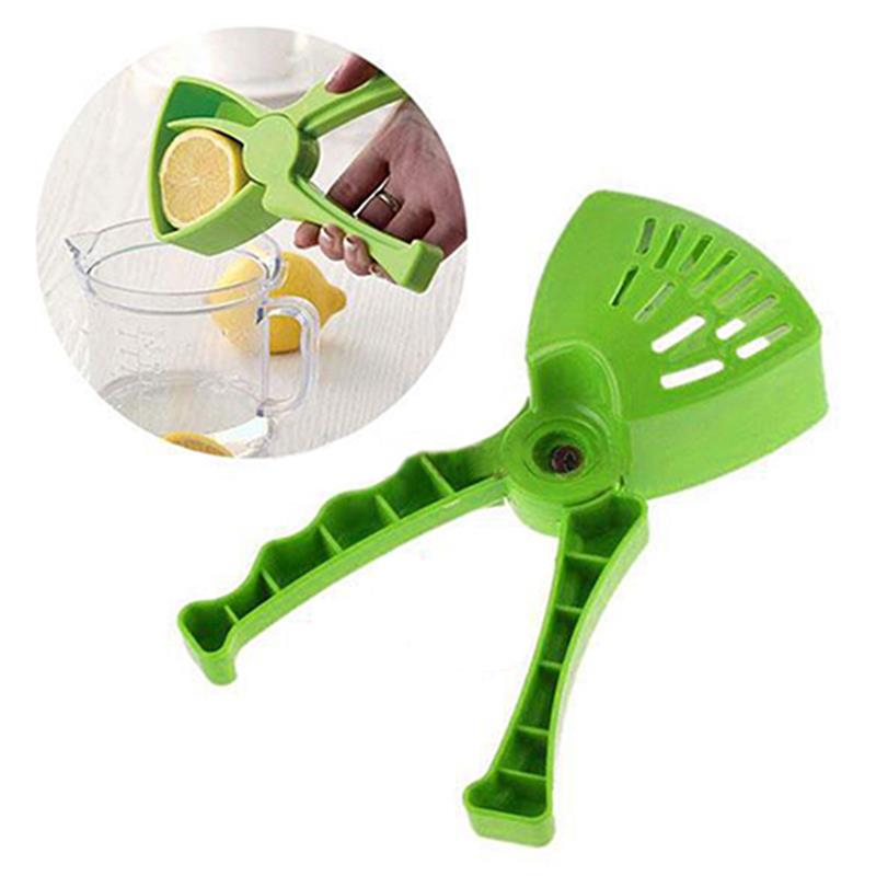 4YANG Green Presser Hand Lemon Juicer Convenient Fruit Vegetable Kitchen Cooking Tools