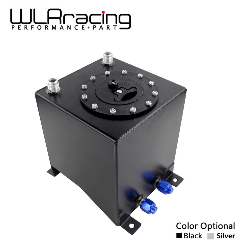 WLR RACING - 10L Aluminium Fuel Surge tank Fuel cell w/o sensor foam inside WLR-TK13 wlr racing 30l aluminium fuel surge tank mirror polished fuel cell foam inside without sensor wlr tk67
