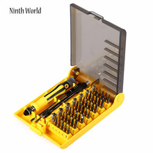 45 in 1 Multifunctional Hand Magnetic Screwdriver Set For mobile phones Computer Batteries Home Screw Set