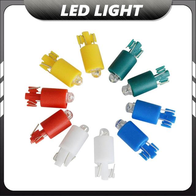 100pcs/lot DC12V LED Lamp LED Light Bulb for Illuminated Push Button Arcade Game Pinball Machine Replacement Parts 5 Colors