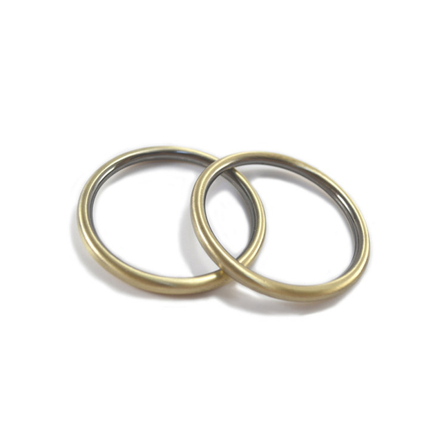 2 Inch Antique Brass / Bronze Cast O Rings-in Bag Parts ...