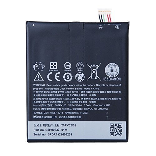 NEW YUETHOUGHT Battery For B0PKX100 Desire 626G+ dual sim 626S 2000mAh + tools + Two years warranty