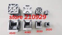 50pcs/pack 2020 movable hinge fixed angle support rotation range 180 degree zinc alloy