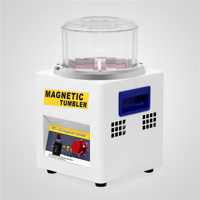 MAGNETIC TUMBLER JEWELRY POLISHER MACHINE DIAMONDS POLISHING 180MM KT185 ON SALE