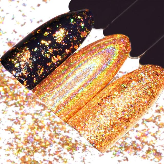 Nail Art Powder Mirror Nail Polish Plating Gold Paste Metal Color Gel  Stainless Steel DIY Nail Art Nail powderDrop Shipping-in Nail Glitter from