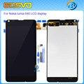"""100% teste de substituição de cor preto para microsoft nokia lumia 640 display lcd com tela de toque digitador assembléia 5.0 """"+ ferramentas gratuitas"""