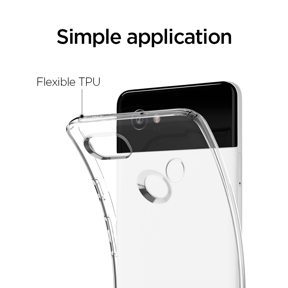 100 Original Spigen Google Pixel 2 Xl Liquid Crystal Case Galaxy S8 Plus Clear F17cs22280 In Fitted Cases From Cellphones Telecommunications On
