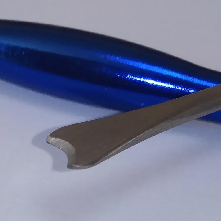 Aluminium Tintenfischmesser Edelstahl Calamary Fisch Werkzeuge - Angeln - Foto 2