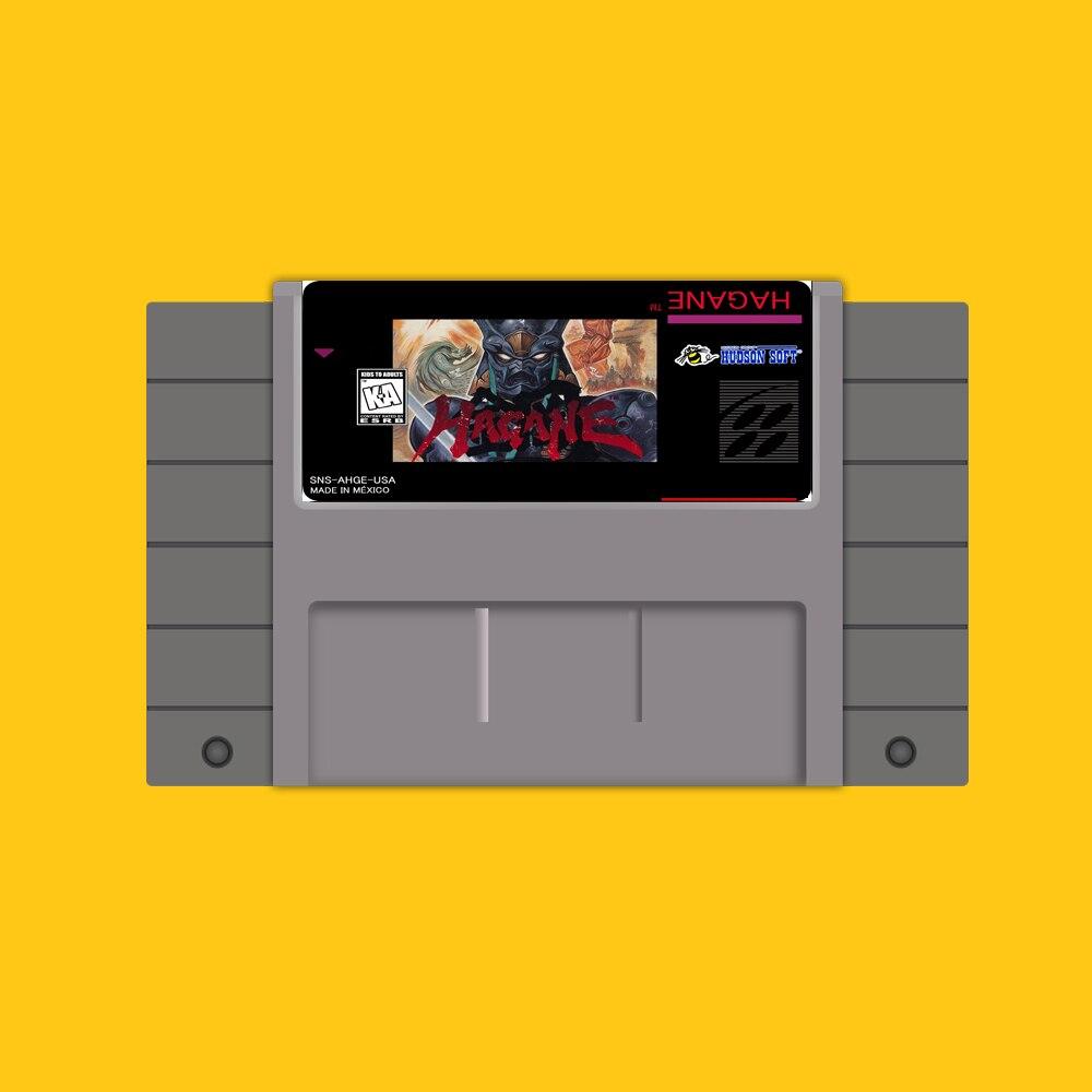 Hagane 46 Pin 16 Bit Grau Spiel Karte Für USA NTSC Spiel Player