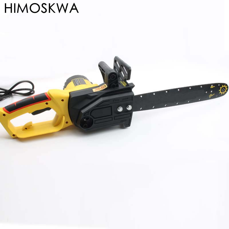 HIMOSKWA Chainsaw sawing household high-power 2200w multi-function plug-in electric chainsaw
