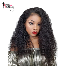 360 Lace Frontal Wig For Women 180% Density Pre Plucked Brazilian Human Remy Hair Curly Lace Front Human Hair Wigs Ever Beauty