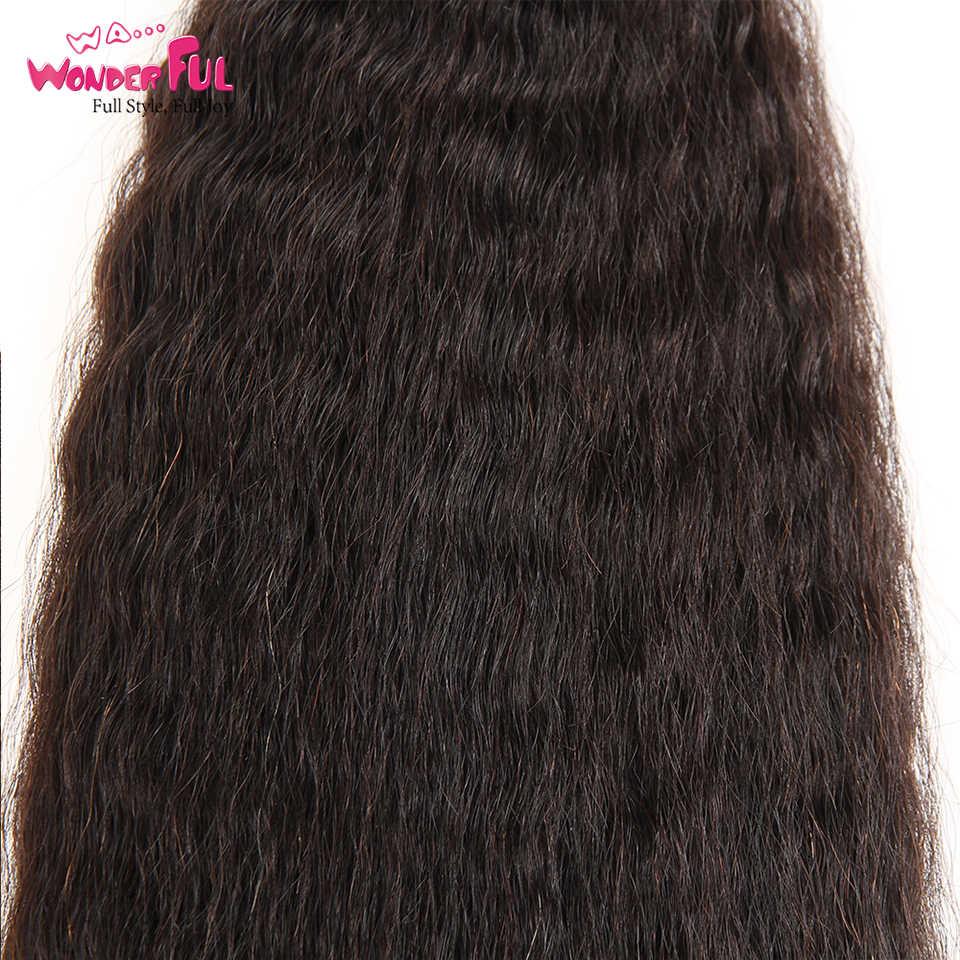 Kinky Straight Menselijk Vlechten Haar Bulk Bundel Geen Inslag 100% Grof Yaki Bulk Haar Voor Vlechten 10 Om 28 30 inch Gratis Verzending