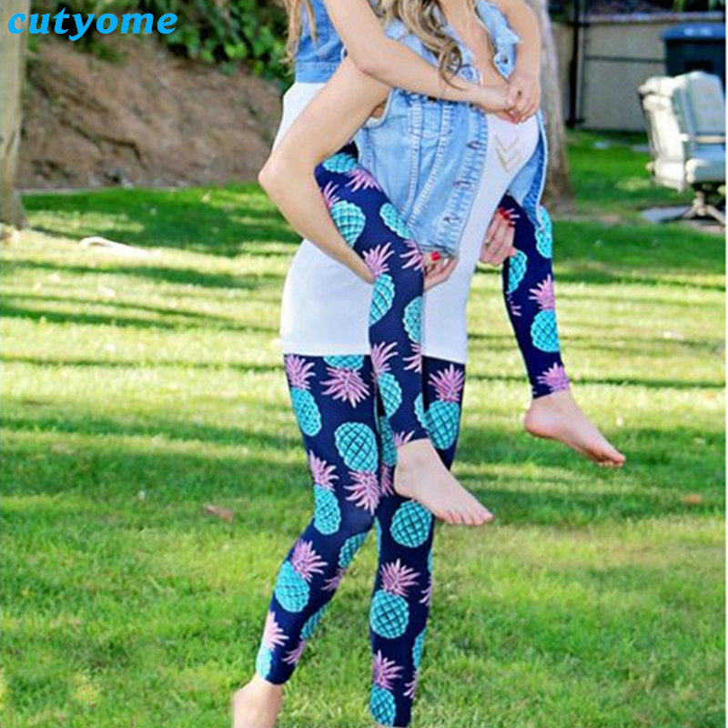 Mom And Daughter Matching Outfits Pants Family Look Mother Daughter Sport Yoga Trousers Mommy And Me Leggings Matching Clothes (5)