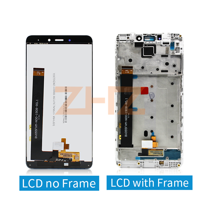 for Xiaomi Redmi Note 4X MTK helios 4GB lcd display Touch Screen Digitizer assembly with Frame Note4X Pro spear repair parts