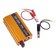 Vodool автомобиля Мощность инвертор 1000 Вт dc 12/24 В к AC 220 В автомобиля Батарея конвертер Мощность инвертор USB Зарядное устройство стайлинга автомобилей