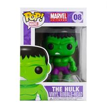 New hot sale Funko POP The Hulk Toy PVC Action Figure Collectible Kids Toys Gifts for Children 8CM Free Shipping