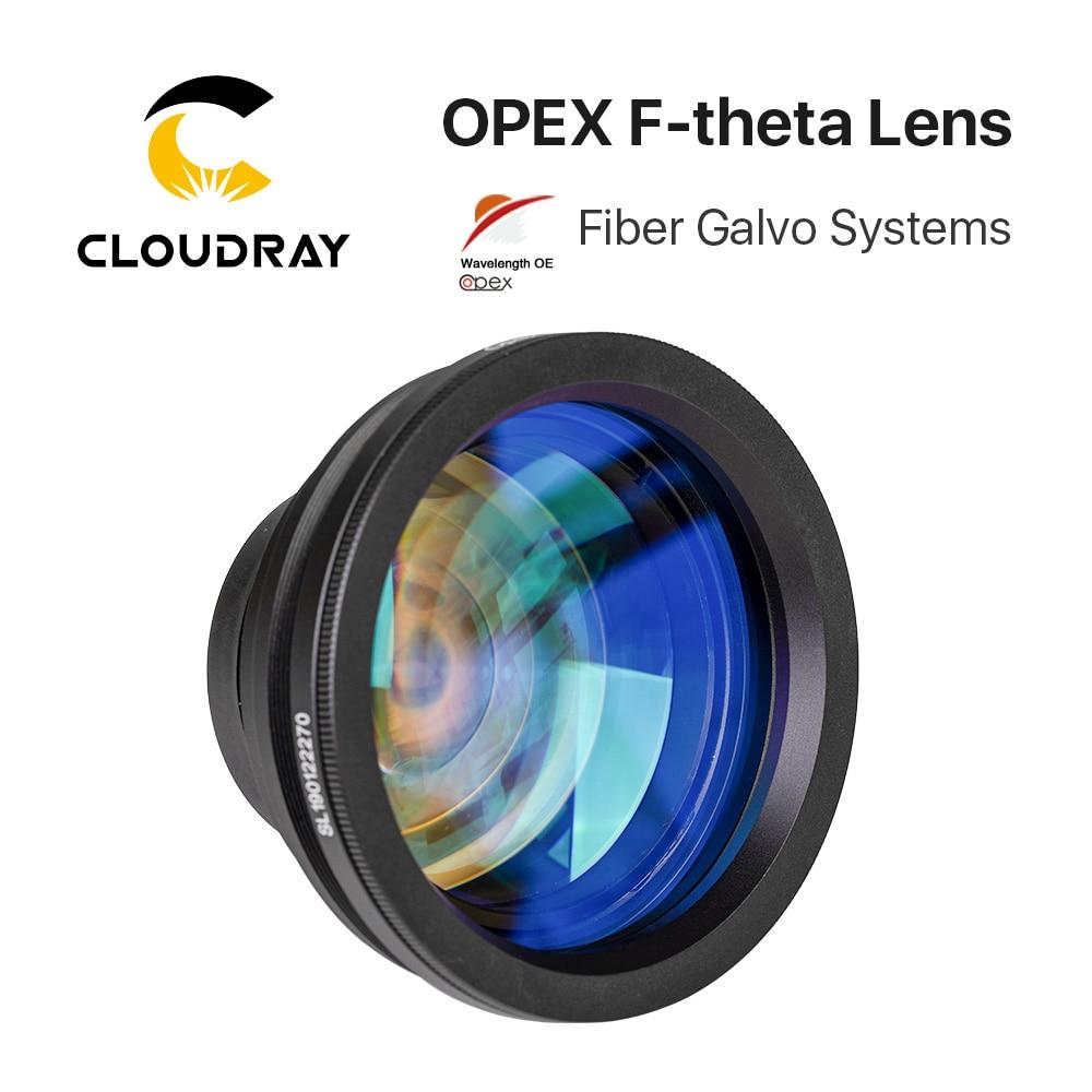 F-theta Lens alan Lens 1064nm 70x70-300x300mm F100-420nm için 1064nm YAG fiber optik lazer işaretleme makinesi parçaları
