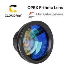 F theta lentille de champ 1064nm 70x70 300x300mm F100 420nm pour Fiber optique YAG, pièces de Machine de marquage Laser