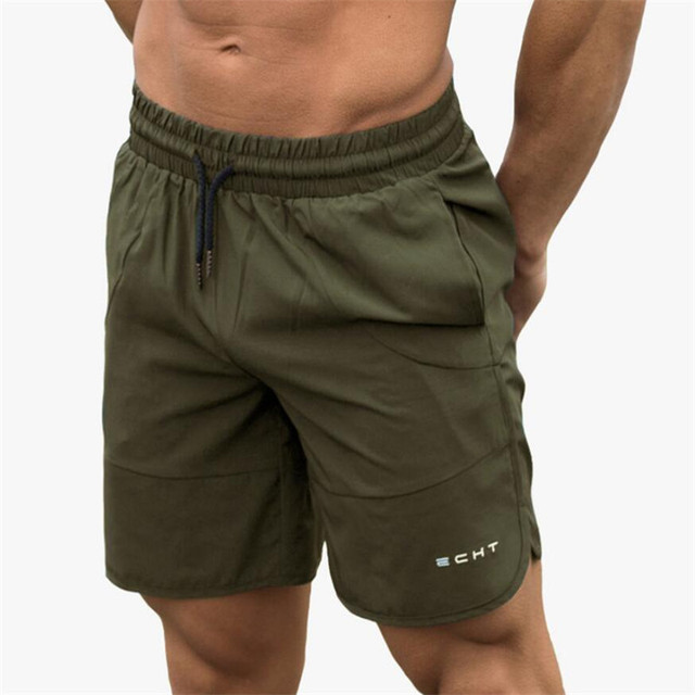 Calf-Length Fitness Bodybuilding Fashion Casual Short Pants  3